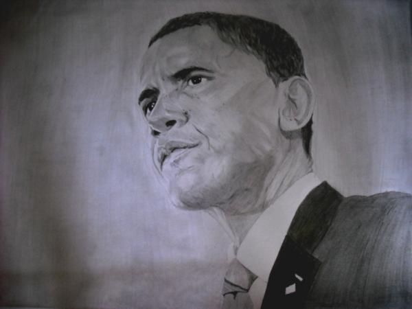Barack Obama par Ikigami